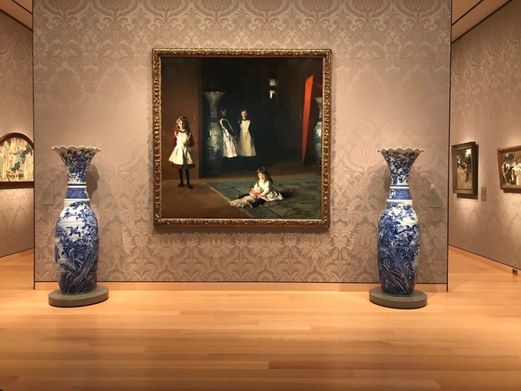 Ruth and Carl J. Shapiro Gallery (Gallery 232), Museum of Fine Arts, Boston, featuring 'Daughters of Edward Darley Boit' by John Singer Sargent (American, 1856–1925) Photograph by Flora Smyth Zahra