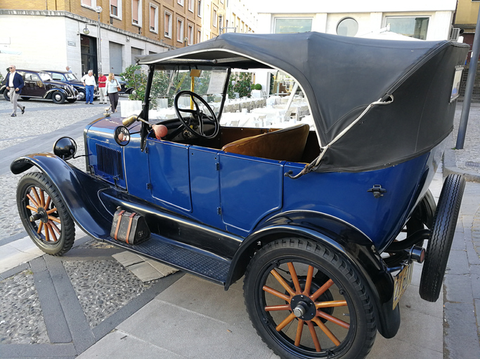 Ford Model T from 1919.