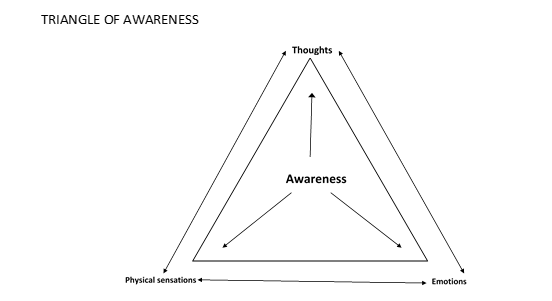 Triangle of Awareness Diagram