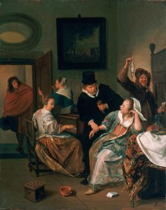 """""""The Doctor's Visit,"""" Jan Steen"""